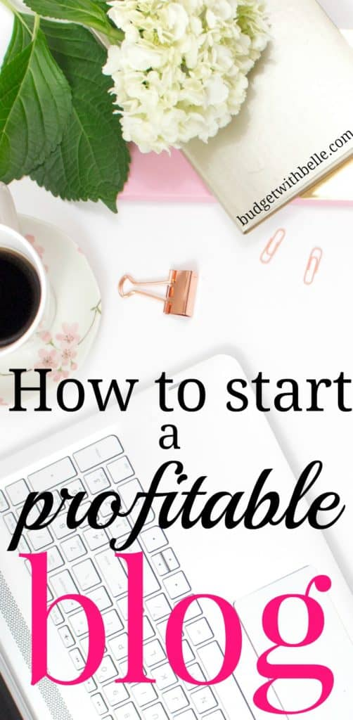 How to Start a Blog | Budget with Belle