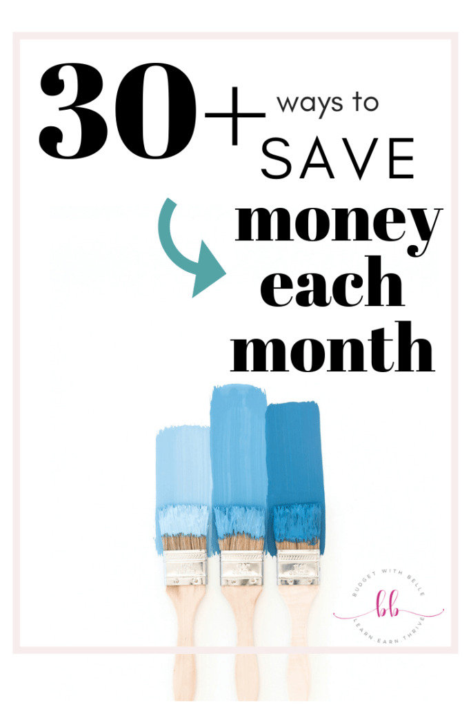 Try these 30+ easy ways to save money on everything from groceries to health care, kids stuff, utilities, transportation, gifts, entertainment, and more!