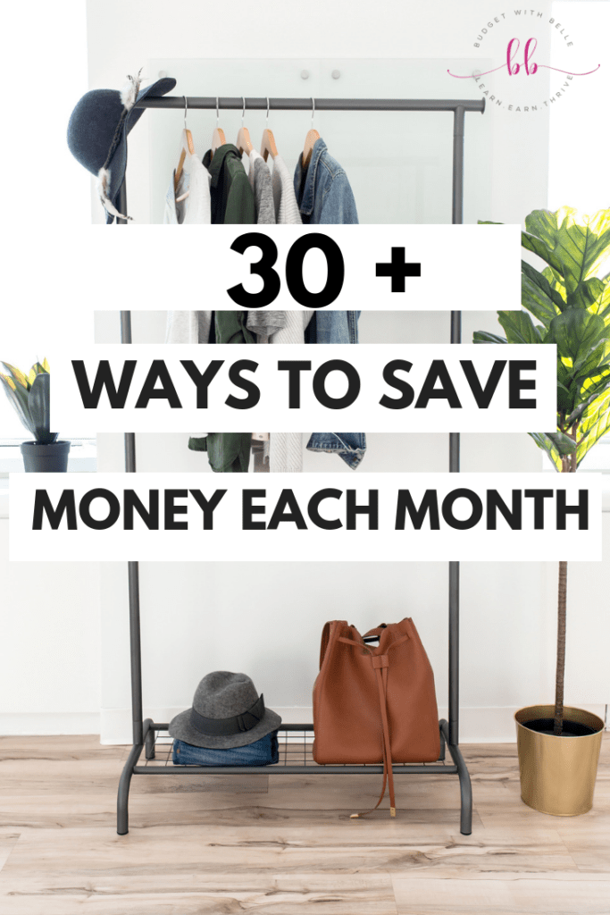 Try these 30+ easy ways to save money on everything. These ideas to save money are mind-blowing! Checkout these strategies to save money on groceries to health care, kids stuff, utilities, transportation, gifts, entertainment, and more!