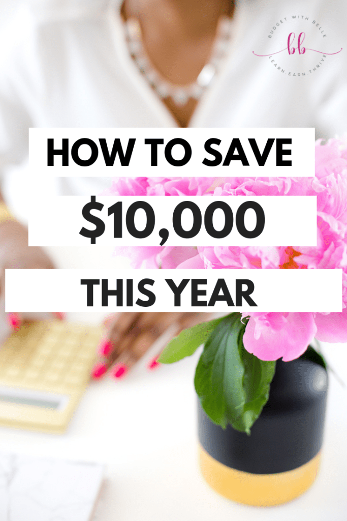 Quick & Easy Ways To Save $1000, save $5000 or even save $10,000 in a Year.