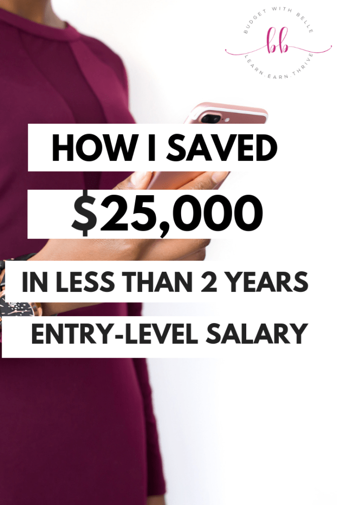Yes, you can save up five figures for a emergency fund, house down payment, or whatever else you got going on. Even if you make a low income, saving is possible. Here are the exact steps I took to do exactly that!