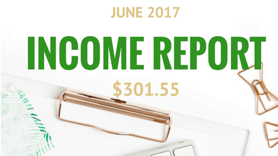 June 2017 Income and Traffic Report