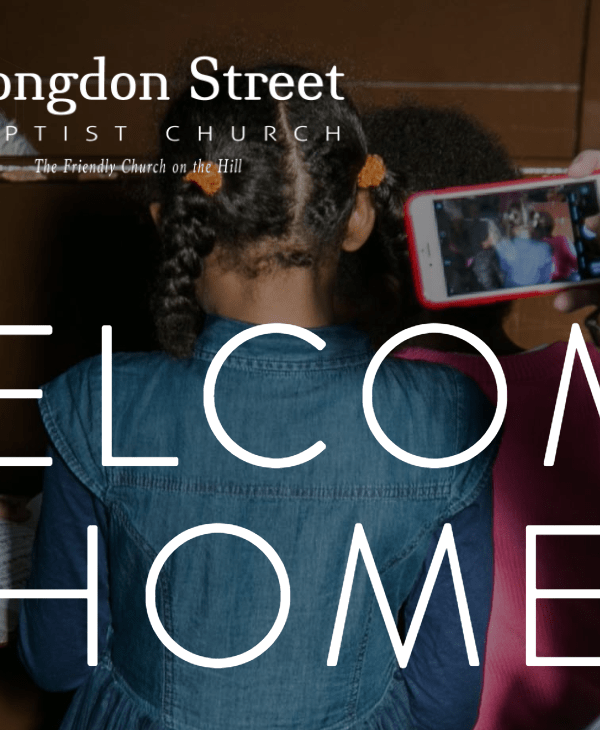 A Blessed Life – Congdon Street Baptist Church